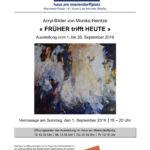 Plakat Ausstelluing M. Heintze im HaM